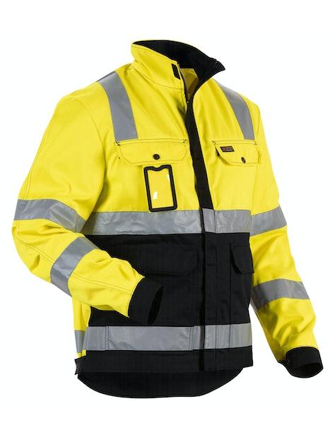 TAKKI BLÅKLÄDER HIGHVIS 402318043399 KELTAINEN/MUSTA KOKO XS