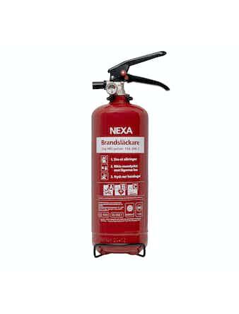 Brandsläckare Nexa 13402 2 Kg Pulver Röd