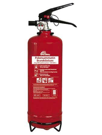 Brandsläckare Nexa Pulver Röd 13A89B C 2kg
