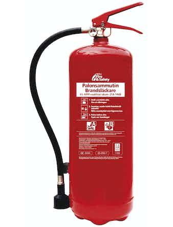Brandsläckare Nexa Röd 6 Liter Skum 21a
