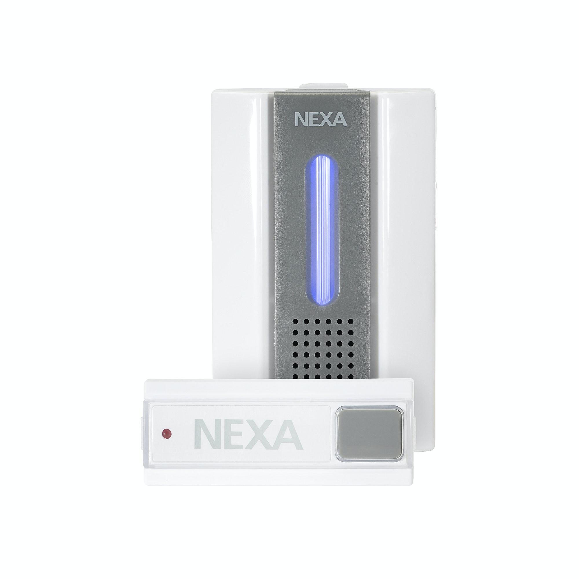 Dörrklocka Nexa 18651 Trådlös LML-710 Komplett Set
