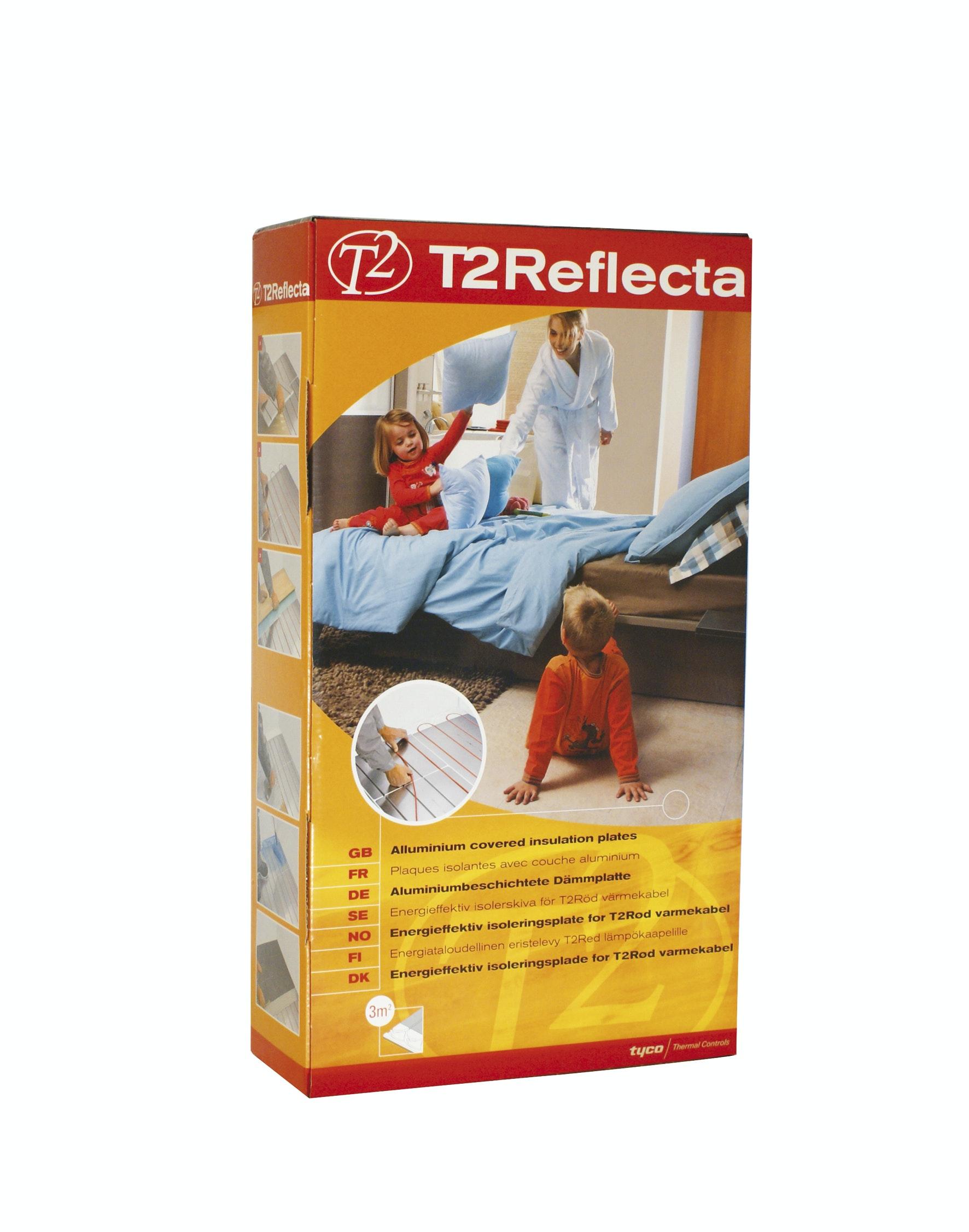 T2Reflecta T2 Isolerskiva 3,12m² För T2Röd