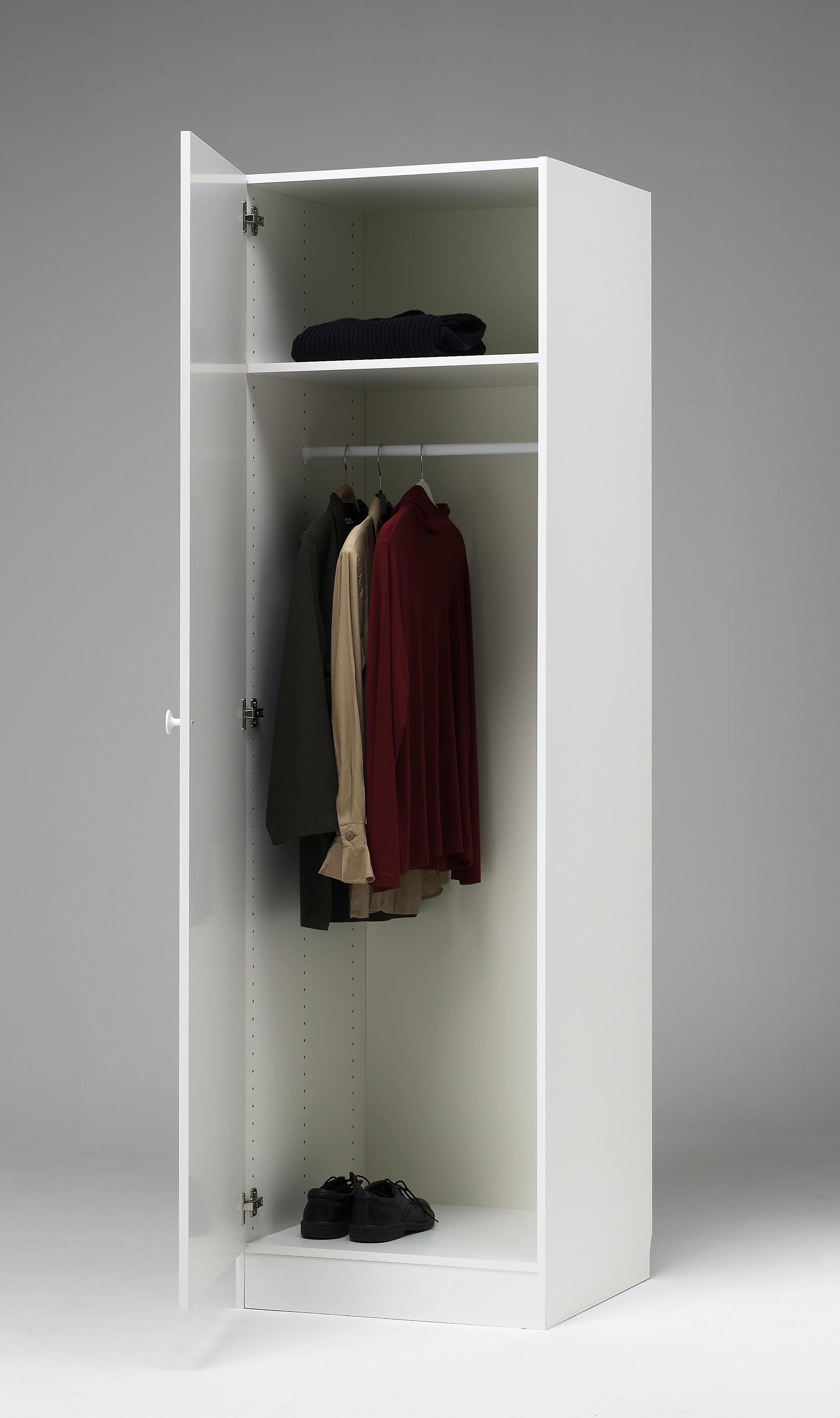 Garderob Nobia Vit 60x60x206