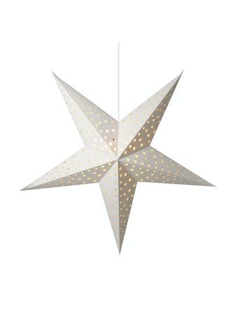 Pappstjärna Vit 150cm