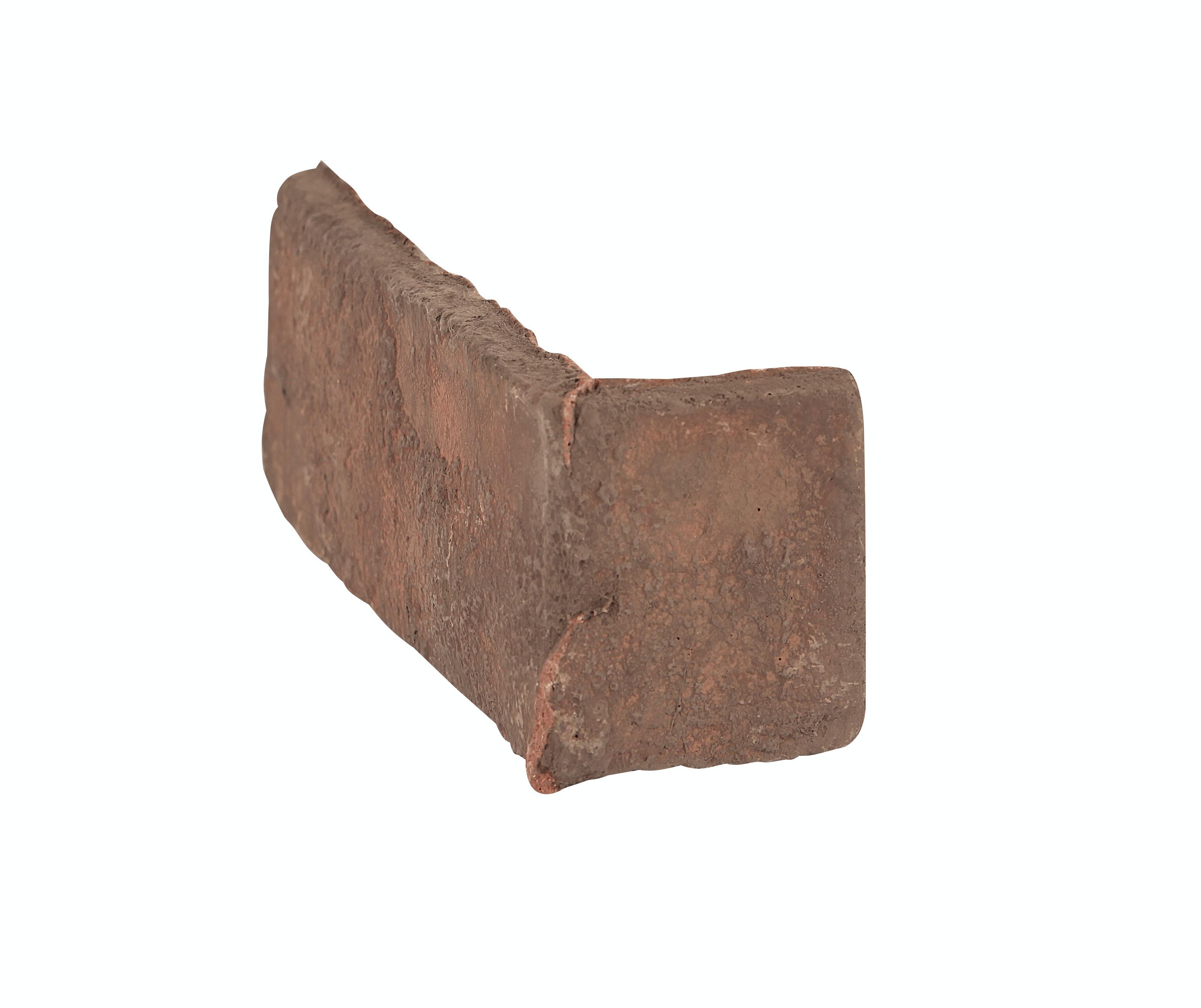 Tegel Golvabia Brick Röd Hörn 16,5/5,5x6,5cm
