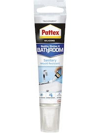 SANITEETTISILIKONI PATTEX KIRKAS 50ML
