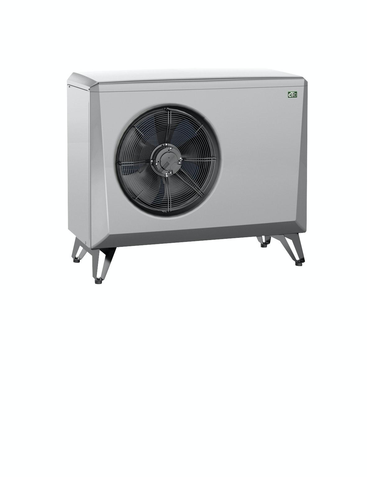 Luft-/Vattenvärmepump CTC Utedel Ecoair 406 A++
