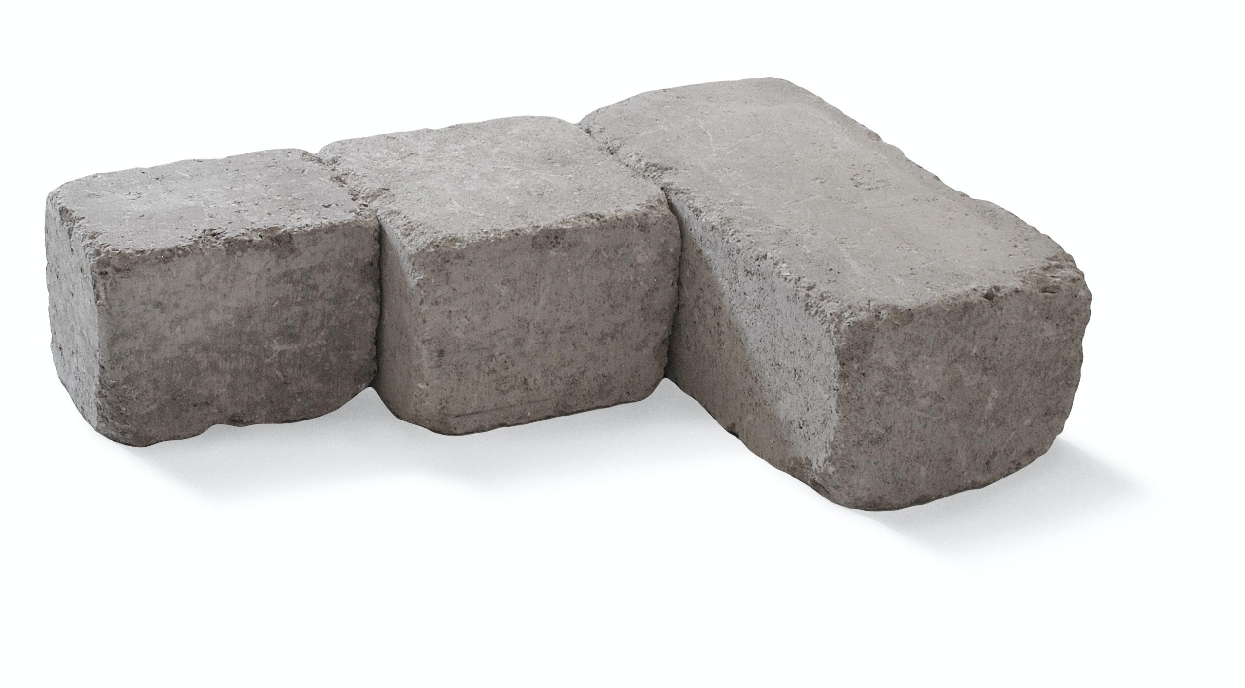 Mursten S:t Eriks Rustik block multi naturgrå 19,0x13,8x13,8cm
