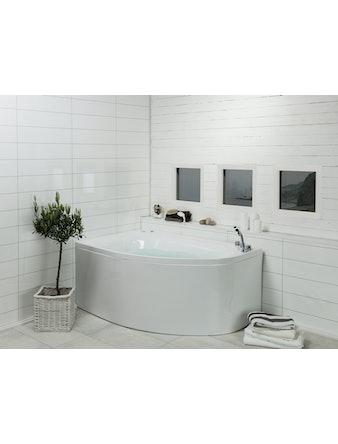 Massagebadkar Noro Sand 160 Gold Höger Inlusive Blandare