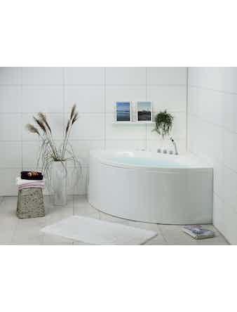 Massagebadkar Noro Star 140 Platinum Inklusive Blandare