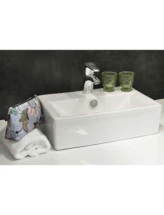Tvättställ Noro Single 450 Porslin