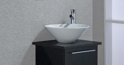 Toppskiva Noro Uno Höger Granit