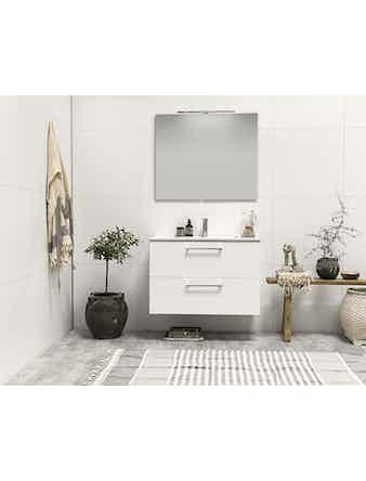 Tvättställsskåp Noro Home 900 Vit Halvmatt