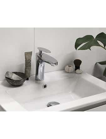 Tvättställ Noro Lifestyle Concept 600 Porslin Center Låg Enkelho