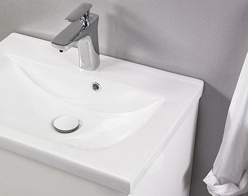 Tvättställ Noro Lifestyle Concept 600 Porslin Center Hög Enkelho