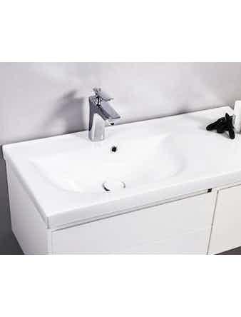 Tvättställ Noro Lifestyle Concept 900 Porslin Vänster Hög Enkelho