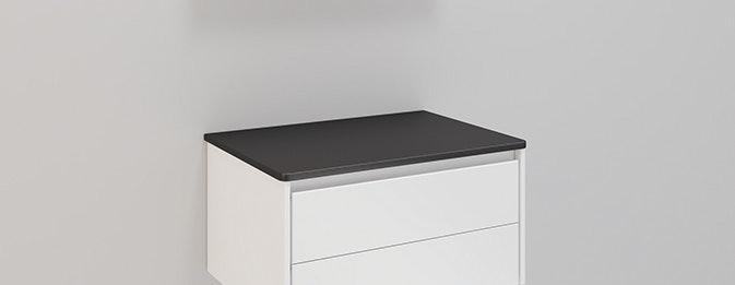 Bänkskiva Noro Lifestyle Concept Svart 600mm
