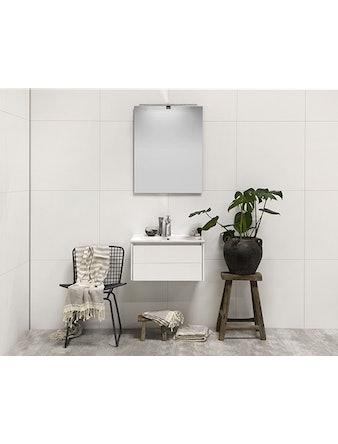 Tvättställsskåp Noro Lifestyle Concept 600 Vit Matt 2 Lådor