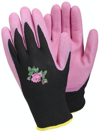 Trädgårdshandskar Tegera 90067 Rosa Stl 6