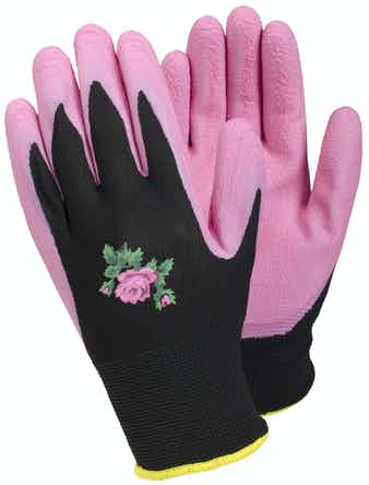 Trädgårdshandskar Tegera 90067 Rosa Stl 8