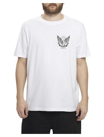 T-Shirt Depalma Thunder Road Vit XXL