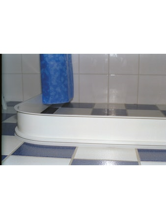 Duschlist Dusch och vänd 900X900mm vit