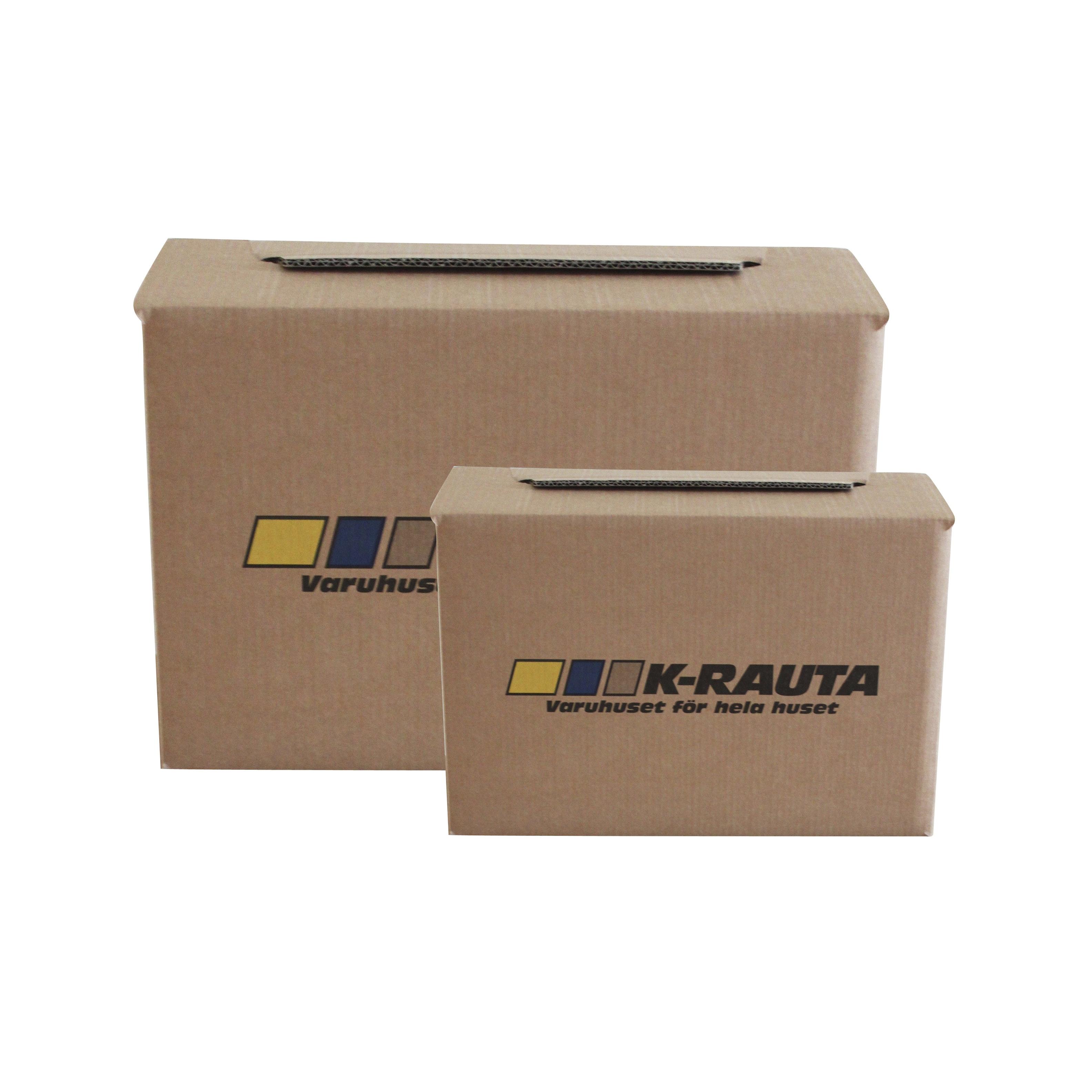 Flyttlåda K-rauta Boklåda 40x30x30cm