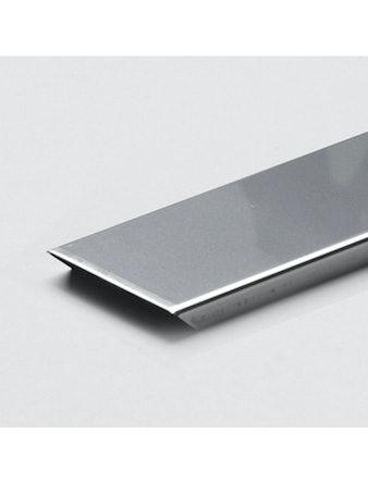 U-Profil till Vetro Glasblock 125cm rostfri blank
