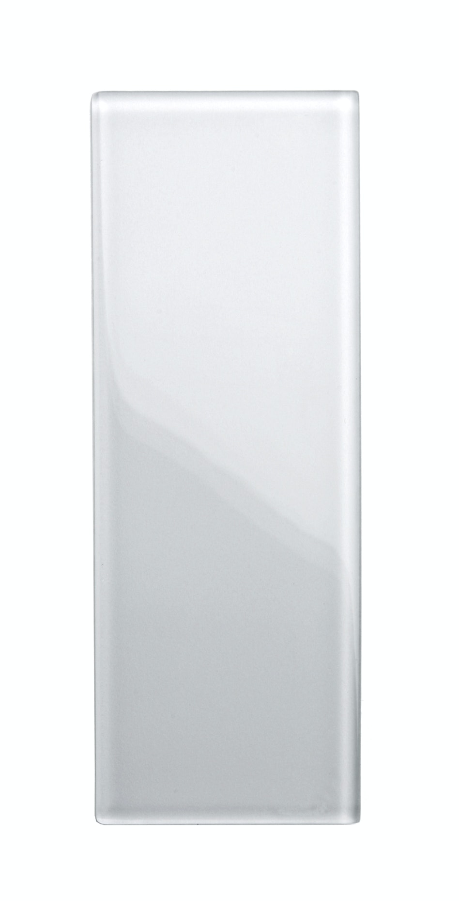 Avslutningsplatta Vetropro till glasbetong vit 4 st