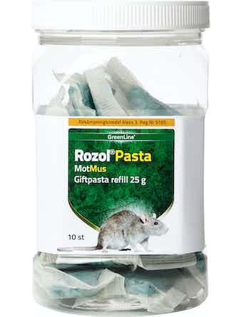 Giftpasta Motmus Rozol Pasta 10x25g