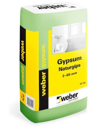 Naturgips Weber Saint-Gobain Gypsum Puts 4Kg