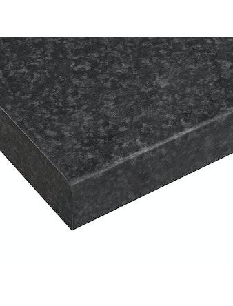 Bänkskiva Laminat LG Collection Easy Black Brazil-Hs PFVHB 3020x610x30mm