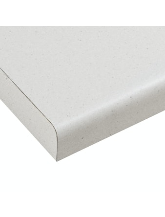 Bänkskiva Laminat LG Collection Easy Myriade Vit PFVHB 3020x610x30mm