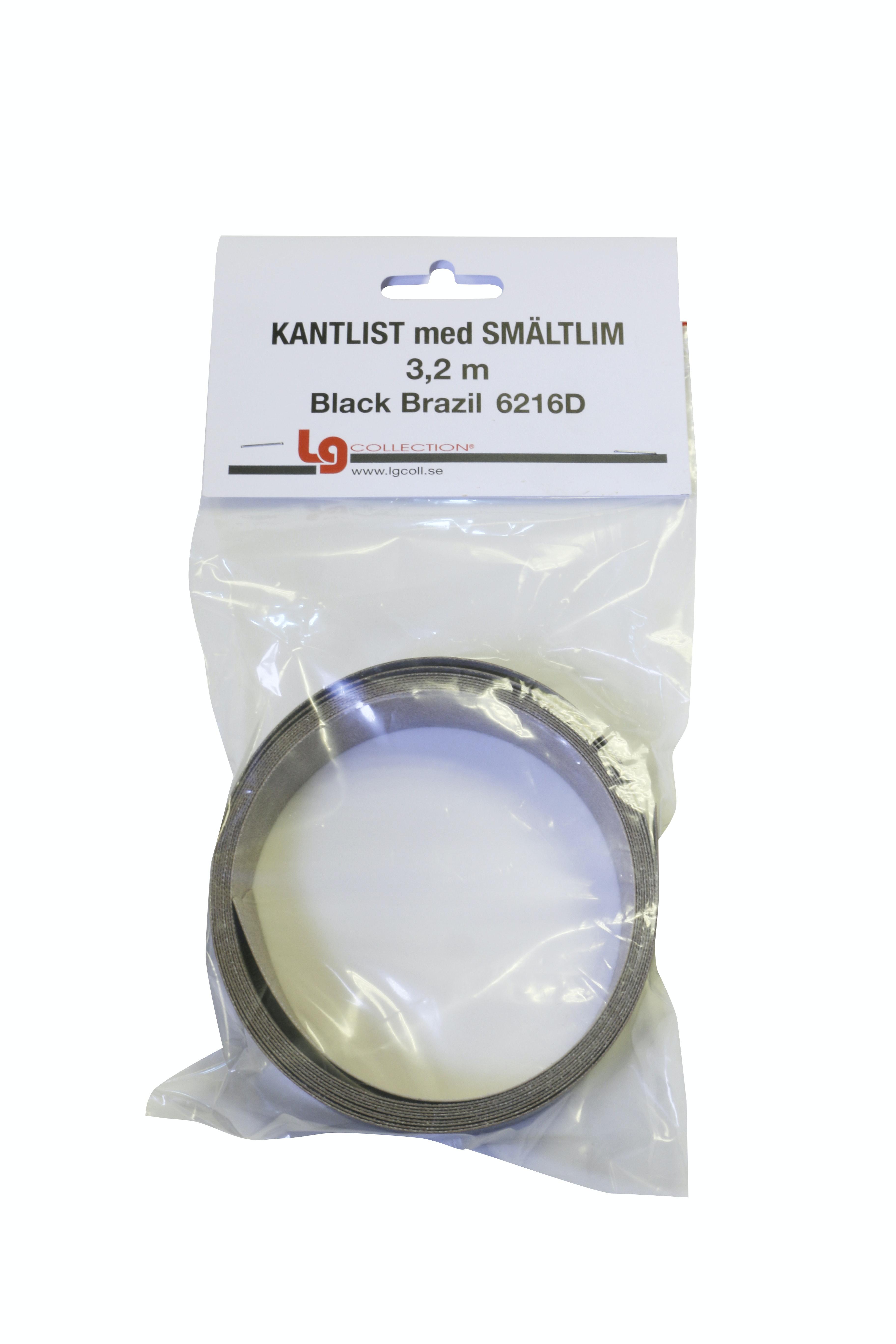 Kantlist LG Collection Sm 3,2m Black Brazil Tc