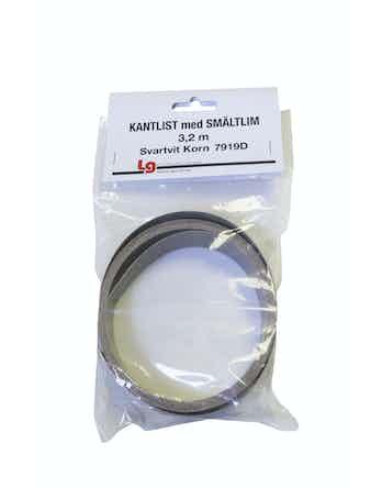 Kantlist LG Collection Sm 3,2m Svartvit Korn Tc