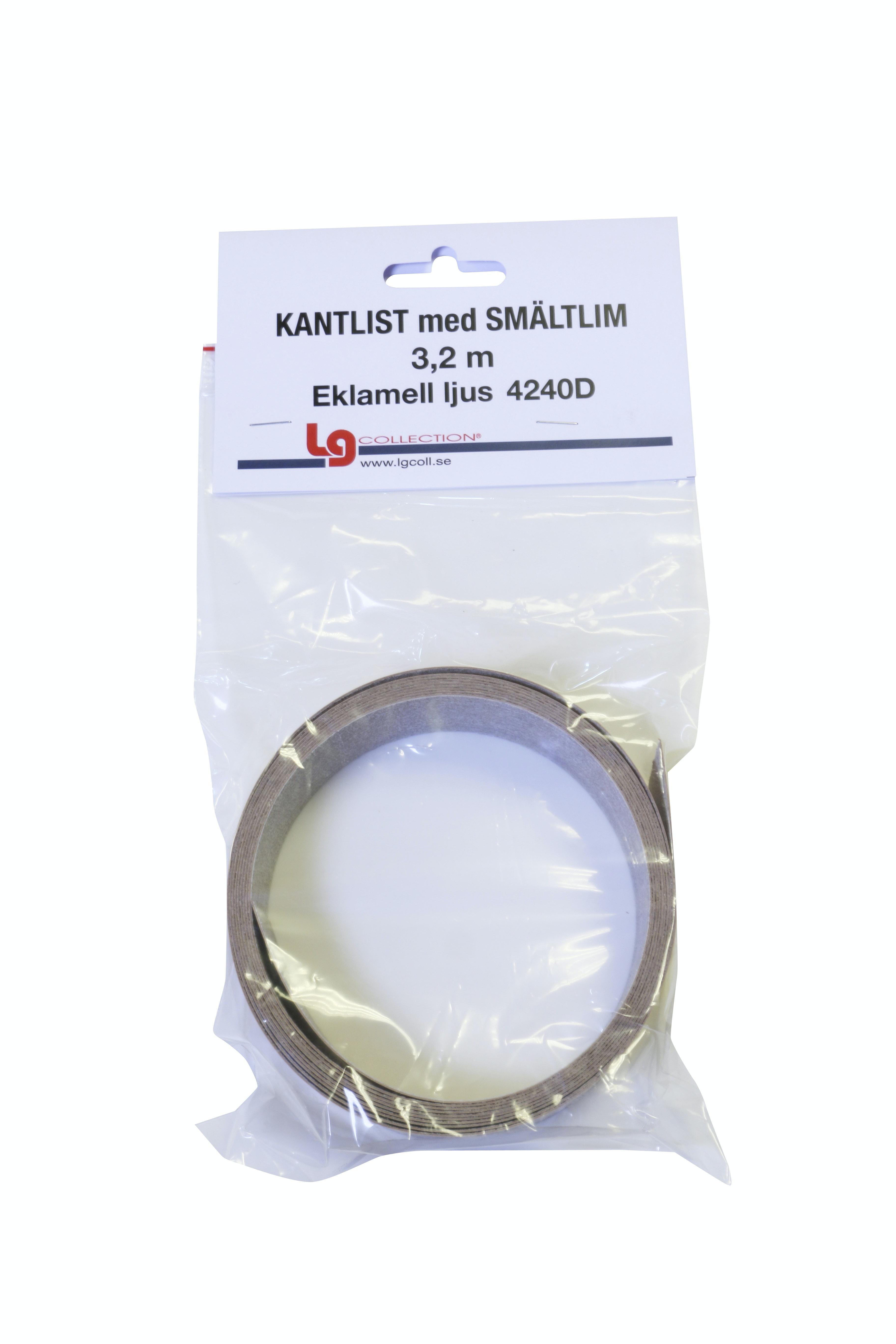 Kantlist LG Collection Sm3,2m Sm-List Eklamell Ljus Tr