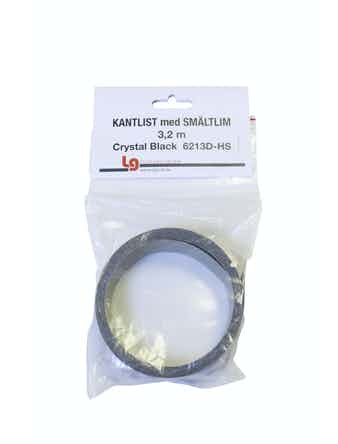 Kantband Sm 3,2m Chrystal Black Hs