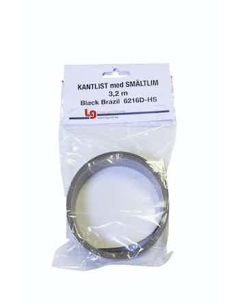 Kantband LG Collection Sm 3,2m Black Brazil Hs