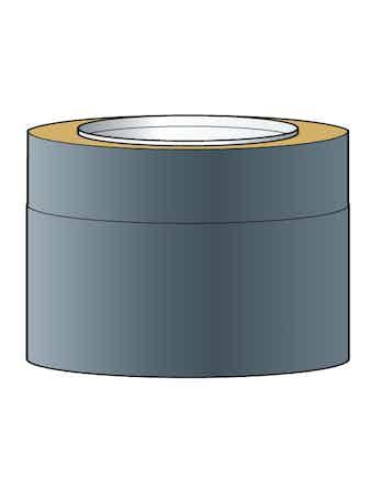 Skorstensmodul Helsio150 Svart 0,25m