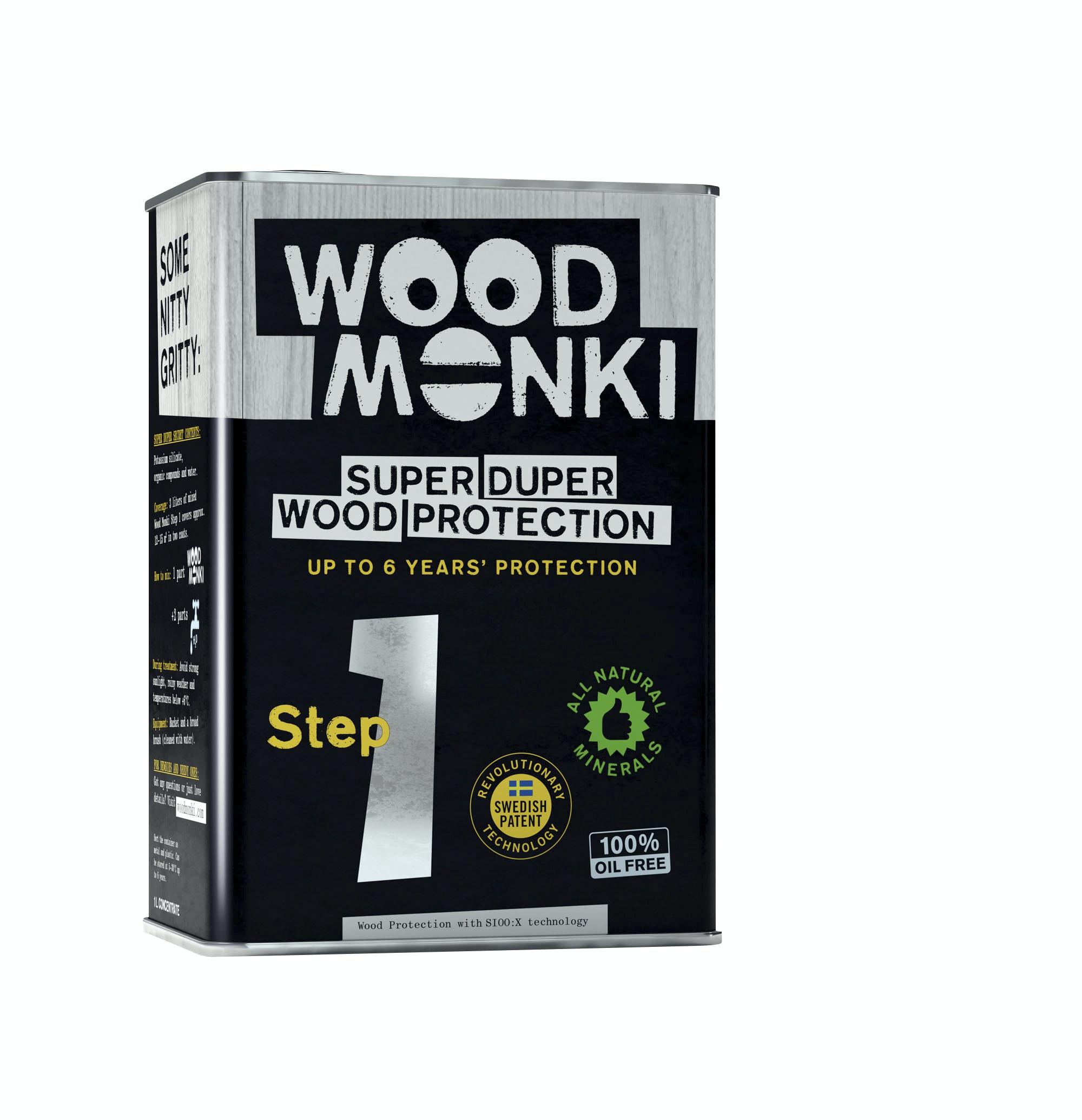 Träskydd Wood Monki Steg 1 1l