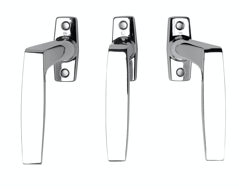 Handtag Fönster Assa Fix 83 Rak Vänster Blankkrom
