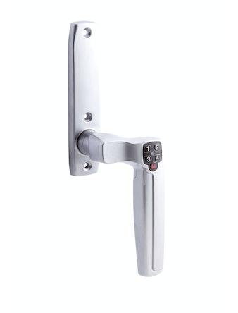 Kodhandtag Innerdörr Assa 7811 Med Långskylt Höger Mattkrom