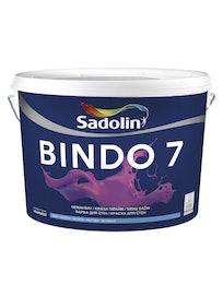 Краска для стен Sadolin Bindo 7, матовая, база BW, 10 л