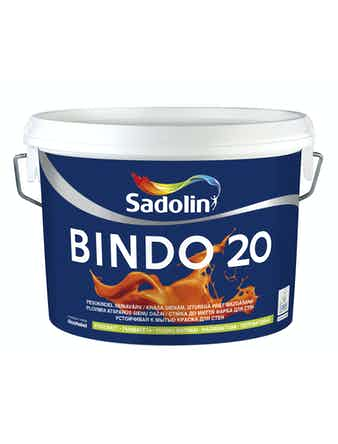 Краска водно-дисперсионная Dulux Bindo 20 белый 10 л