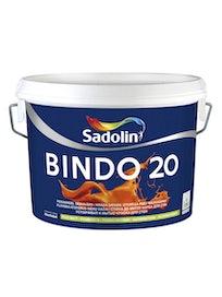 Краска для стен Sadolin Bindo 20, полуматовая, база BC, 2,25 л