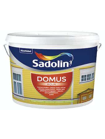 Dulux DOMUS AQUA водорастворимая краска для деревянных поверхностей (Бесцветная основа для колеровки)