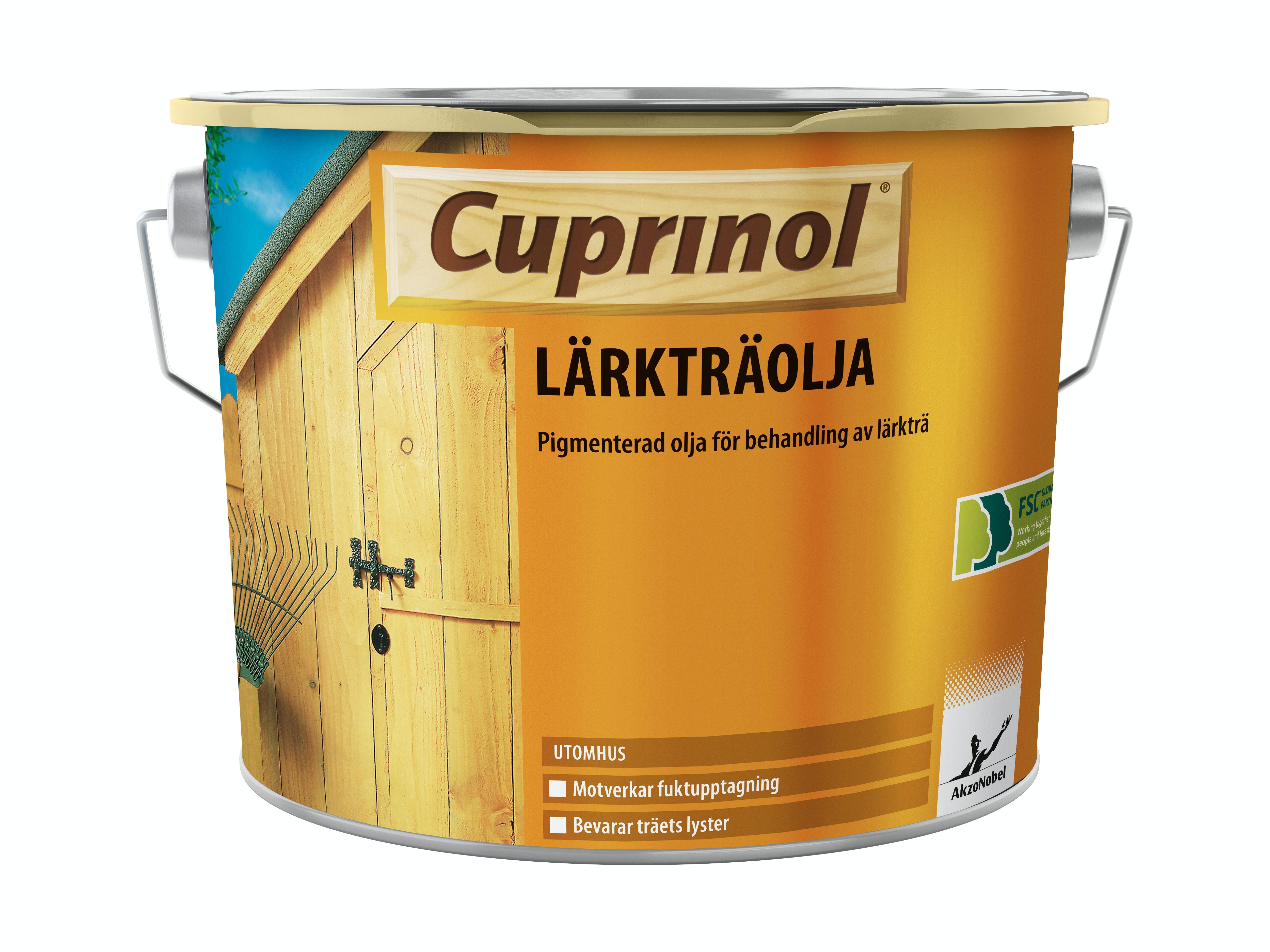 Lärkträolja Cuprinol Pigmenterad 2,5l