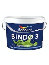 Водно-дисперсионная краска, Dulux Bindo 3, белая, матовая, 10 л