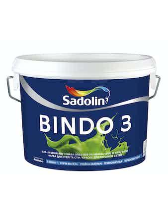Краска водно-дисперсионная матовая Dulux Bindo 3 белая 10 л
