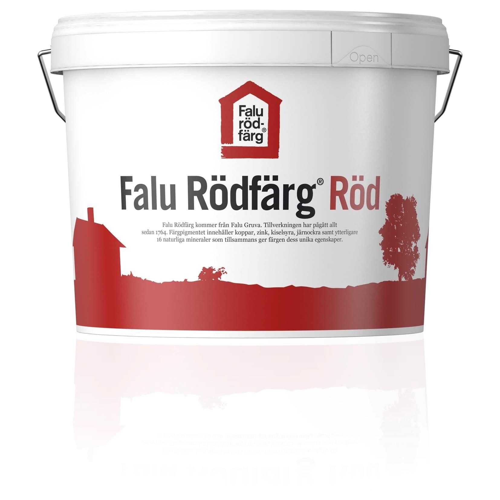 Falu Rödfärg Original Helmatt Röd 10l